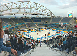 Beachvolleyball-Stadion